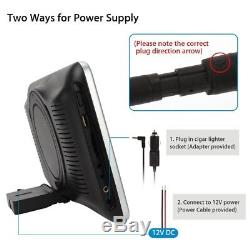 New 10 HD Car Rear Seat MP5 DVD Palyer Entertainment Game AV-IN AV-OUT Remote