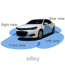Panoramic View For Car With Monitor System 360Degree View Car Parking Assistance