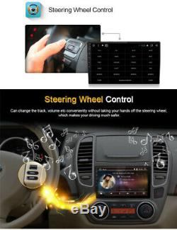 Single Din Android 8.1 9 HD Touch Car GPS Navigation Stereo Radio 4-Core 1+16G