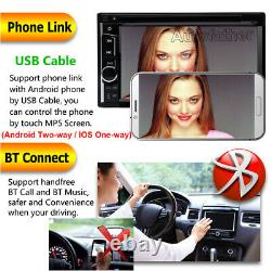 Sony Len Double Din Car Stereo Radio DVD Player+Cam For Ford Fiesta Focus Fusion