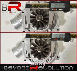 T04E Stage Lll T3/T4 Boost Turbo Charger High Performance 8 Blade Compressor