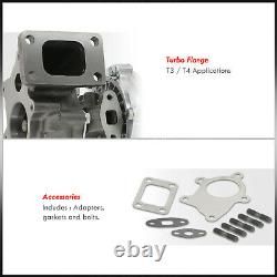 T04E T3/T4.63 A/R Stage III Turbo Charger Compressor Bearing 5Bolt Turbocharger