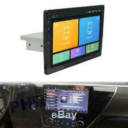 USA 9 Inch Android 8.1 Stereo Radio GPS Mirror Link OBD In-dash Unit Single Din