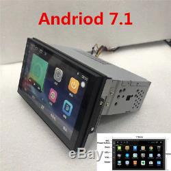 Universal 1DIN Android 7.1 Touch Auto GPS Radio Stereo Player FM/RDS/SWC/BT/Wifi
