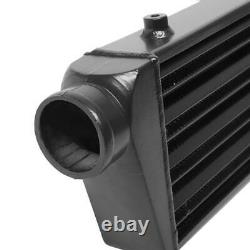 Universal 2.5 12pc Black Intercooler Piping Kit + Blue Couplers +T-Bolt Clamps