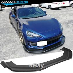 Universal 68x20 in RB Style Front Bumper Lip Splitter Unpainted PP