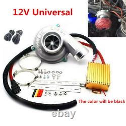 Universal Electric Turbo Supercharger Turbocharger Lifting 10-30% Engine Power